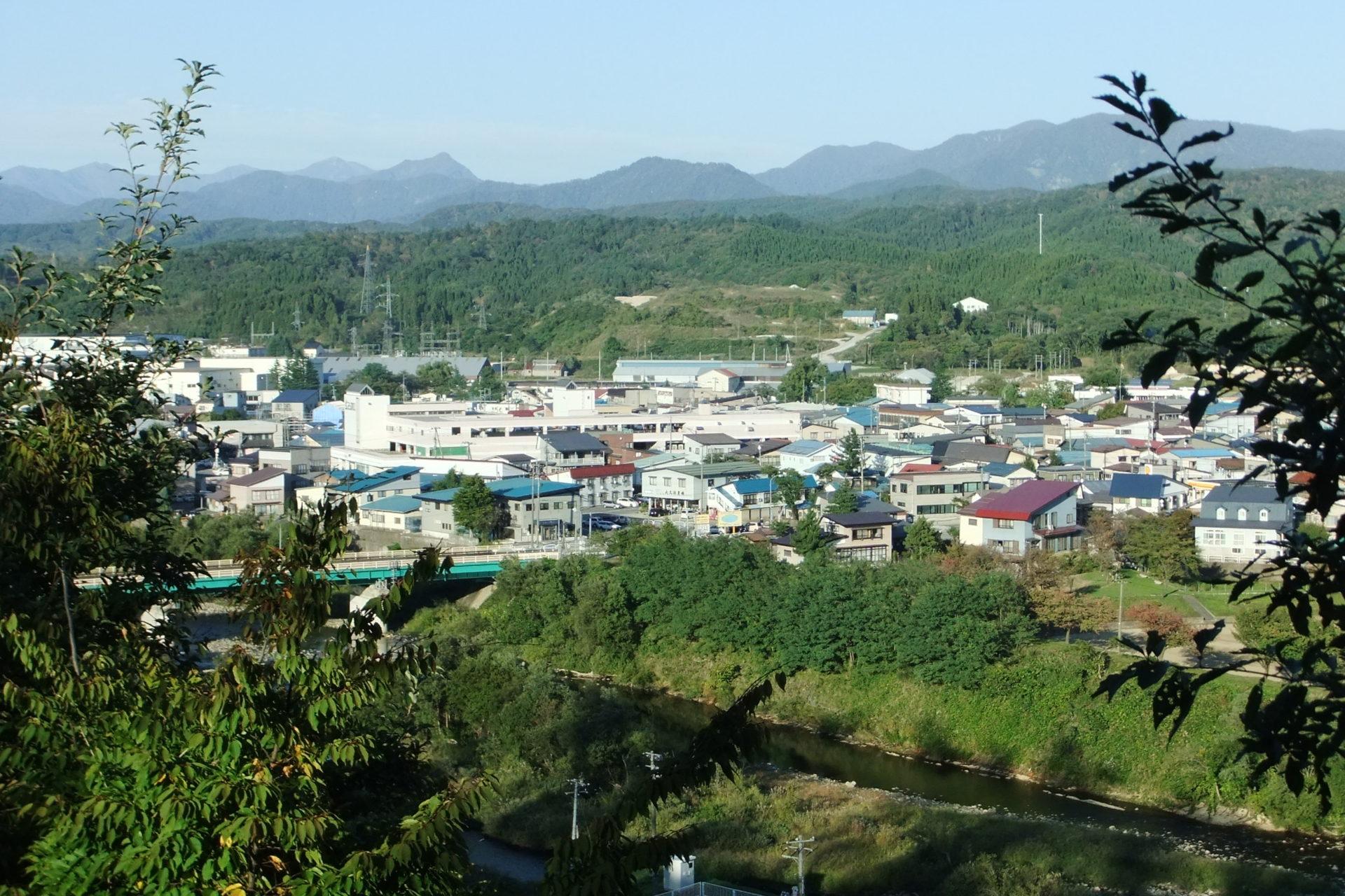 神明山公園(上杉神社)の風景