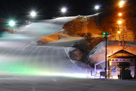 横根スキー場の風景