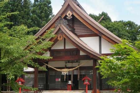大宮神社の風景