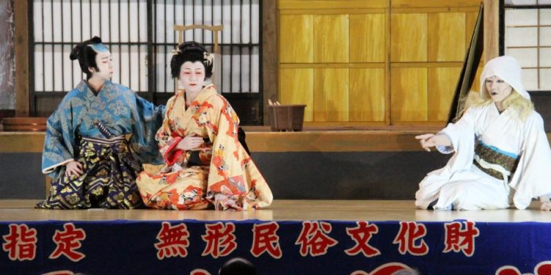 古田歌舞伎伝承館の風景